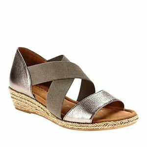 Comfortiva-Womens-Brye-Anthracite-Open-Toe-Casual-Strappy-Sandals