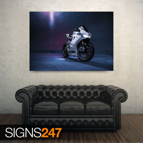 DUCATI 1199 PANIGALE S Poster Print Art A1 A2 A3 A4 1501 Motorbike Poster