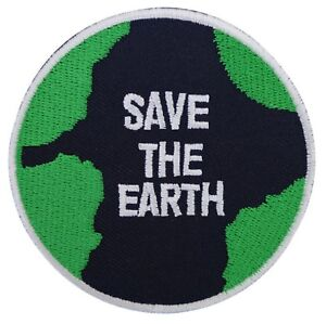 Patche-ecusson-Save-the-Earth-Sauvons-la-planete-thermocollant-patch-brode
