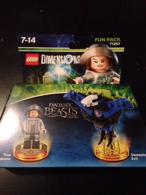 2019 Ultimo Disegno Lego Dimensions Fun Pack 71257 Les Animaux Fantastiques Tina Goldstein Neuf