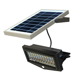Solar powered led security flood light with pir sensor 10watt image is loading solar powered led security flood light with pir mozeypictures Choice Image