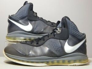 30aa44e98c15 Nike Shoes - 2010 Lebron 8 VIII V 2 Cool Grey - Black White Silver ...