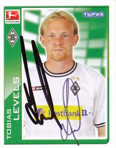 Tobias Levels  Bor.Mönchengladbach  Topps Sticker 2010//11 signiert 402422