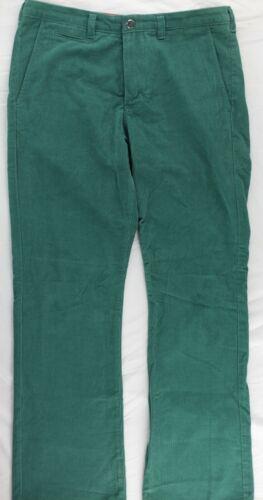 Bonobos Athletic Boot Corduroy Pants 32x32 Mens