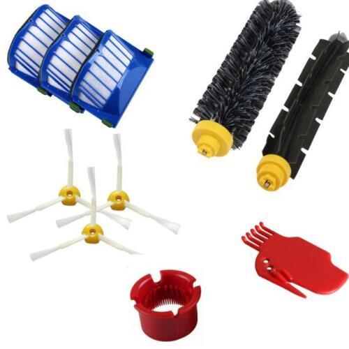 Teilesatz für Staubsauger Für iRobot Roomba 600 610 650 620 Serie Filterbürste