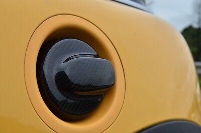Carbon Fiber Gas Fuel Cap Cover for Mini Cooper S R55 R56 2007-2013