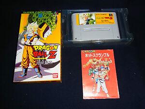Nintendo-Super-Famicom-SFC-GAME-SNES-Japan-Dragon-Ball-Z-Super-Butouden-DBZ