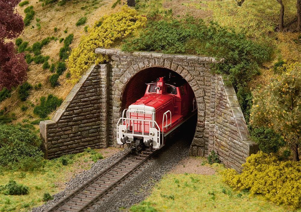 Faller 120558 - 1 87 87 87 h0 túnel portal para explotación de vapor-nuevo 877d05