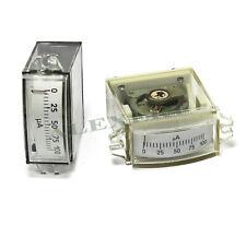 1x Analog Panel Meter 0 100ua Ussr Current Dc Ammeter M4248