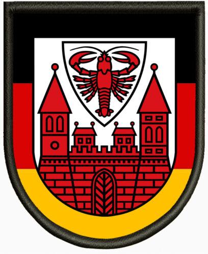 Aufbügler Pin Wappen von Cottbus Aufnäher