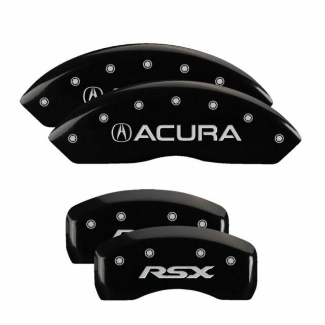 MGP Caliper Brake Covers For Acura 2002-2006 RSX Black