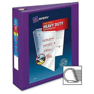 Avery-One-Touch-Ezd-Heavy-duty-Binder-2-034-Binder-Capacity-Letter-8-50-034-X