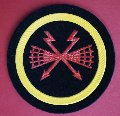 NOS Soviet Mine Torpedo Specialist Patch Badge Sleeve Uniform Navy VMF Naval