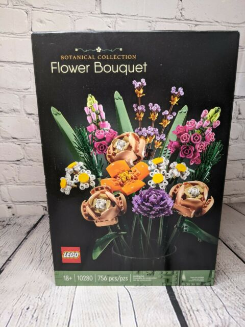 LEGO Botanical Collection Flower Bouquet Building Kit 10280 (756 Pieces) In Hand