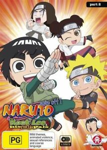 Naruto-Spin-Off-Rock-Lee-and-His-Ninja-Pals-Part-2-Eps-27-51-DVD-NEW-Region