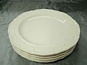 "Vtg Canonsburg Pottery AMERICAN TRADITIONAL Set of 6-6"" Bread Dessert Plate USA"