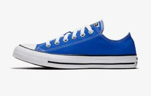 7ad4399b38925c Converse Unisex CHUCK TAYLOR ALL STAR OX LOW TOP Shoes Royal 159545F ...