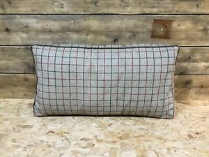Alexander-James-Wallace-standard-snuggler-back-cushion-tweed-tartan-dog-bed-etc