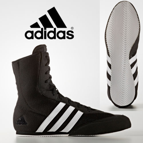 Adidas Box Hog 2 Boxing Boots Wrestling Shoes combat Black Original Trainers