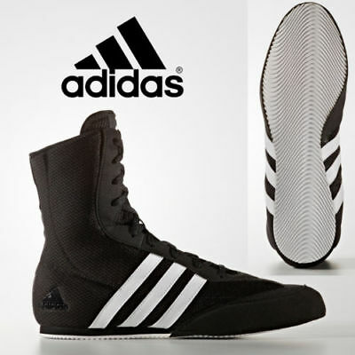 Adidas Box Hog 2 Boxing Boots Wrestling Shoes combat Black Original Trainers | eBay
