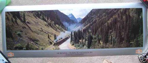 Durango /& Silverton Steam Train Colorado Morning Print