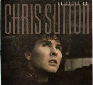 CHRIS-SUTTON-SELF-TITLED-1986-UK-10-TRACK-034-PROMO-034-LP-POLYDOR-POLD-5193