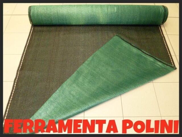 RETE ROTOLO OMBREGGIANTE/OMBRA 100% H.1,5x25 Mt. SCHERMATURA TOTALE