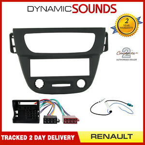 Aerial Kit Car Stereo Radio Fascia Facia Panel ISO Flat Pins Vehicles without Navigation