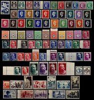 ANNÉE 1945 Complète, Neufs ** = Cote 83 € / Lot Timbres de France