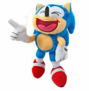 Plush Toy Sonic The Hedgehog Classic Sonic 8 Inch Laughing 655036957257 Ebay