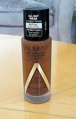 Almay Skin Perfecting Comfort Matte Foundation- 250 Cool