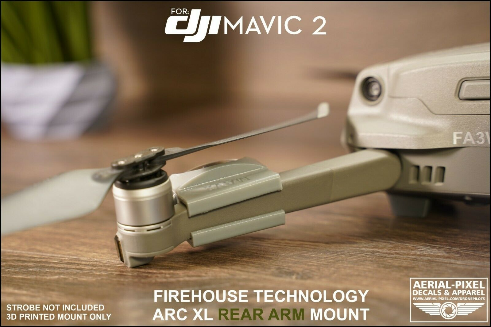 Firehouse Technologies Arc XL Estroboscópio Mount Para Autel Evo Drone