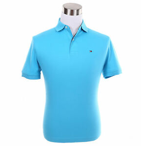 Tommy-Hilfiger-Men-Classic-Fit-Short-Sleeve-Solid-Polo-Shirt-Free-0-Ship