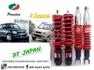 KENARI-L9-D7-JAPAN-Adjustable-Coilover-High-Low-Body-Shift