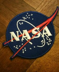Authentic-NASA-Space-Program-Embroidered-Vector-Emblem-Patch-Collector-item