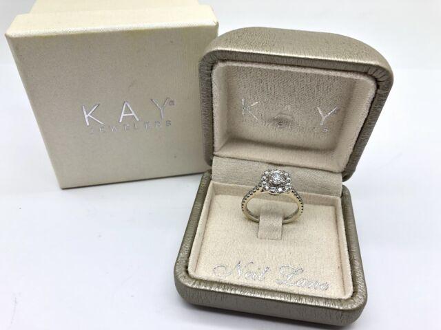 NEIL LANE Bridal 1.00ctw Diamond Halo Engagement Ring GB#2221