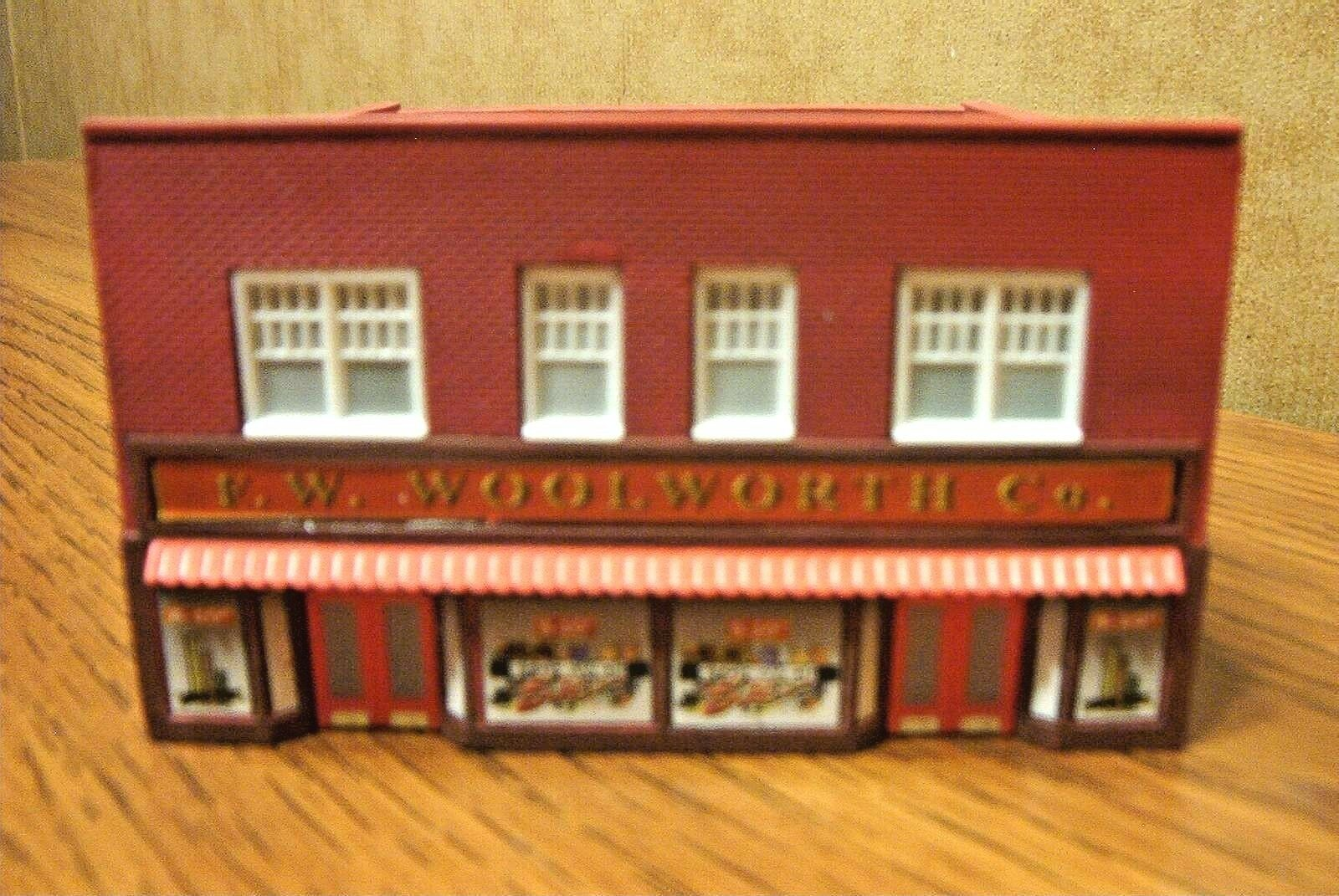IMEX  F.W. WOOLWORTH CO. STORE N SCALE BUILT-UP BUILDING