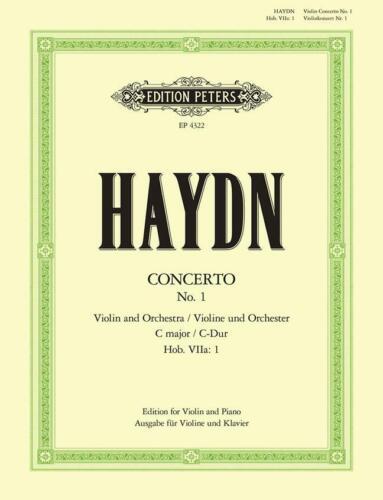 Concerto No.1 In C Hob.VIIa//1  Violin and Piano Franz Joseph Haydn Book Only EP4