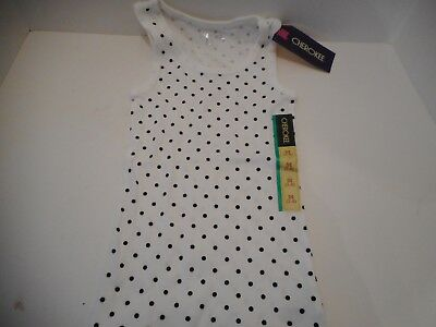 NWT Gymboree Girls Lime Green Polka Dot Bow Tank Top Size 4 5 6 7 8 /& 12