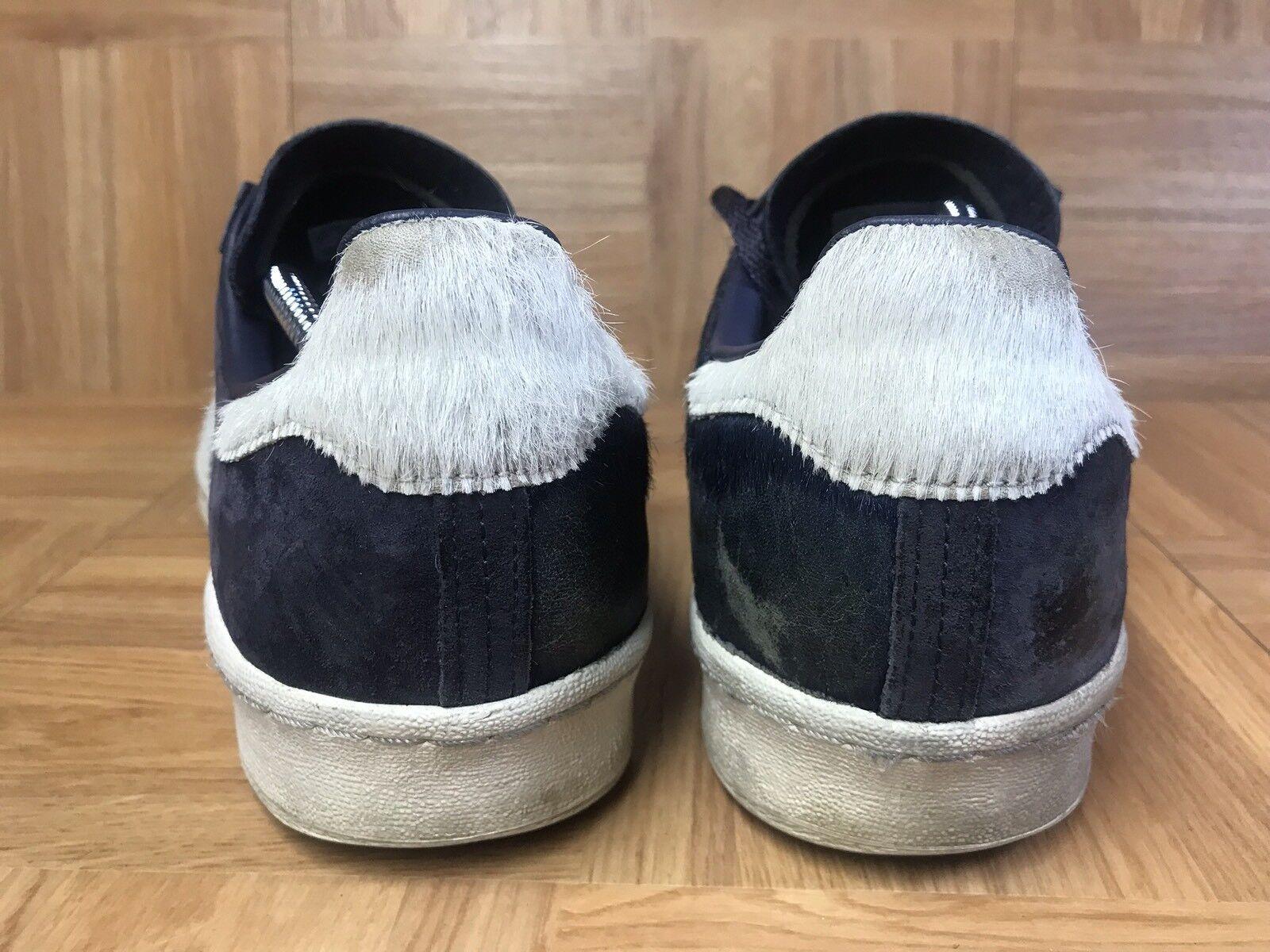 Vntg � campus adidas x aziz, vef campus � aus pferdehaar royal - blau - weiß g97269 männer sz 10,5 66e934