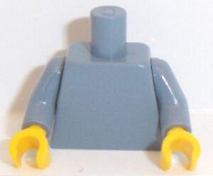 Torso Plain GENUINE NEW LEGO Blue Torso // Yellow Hand