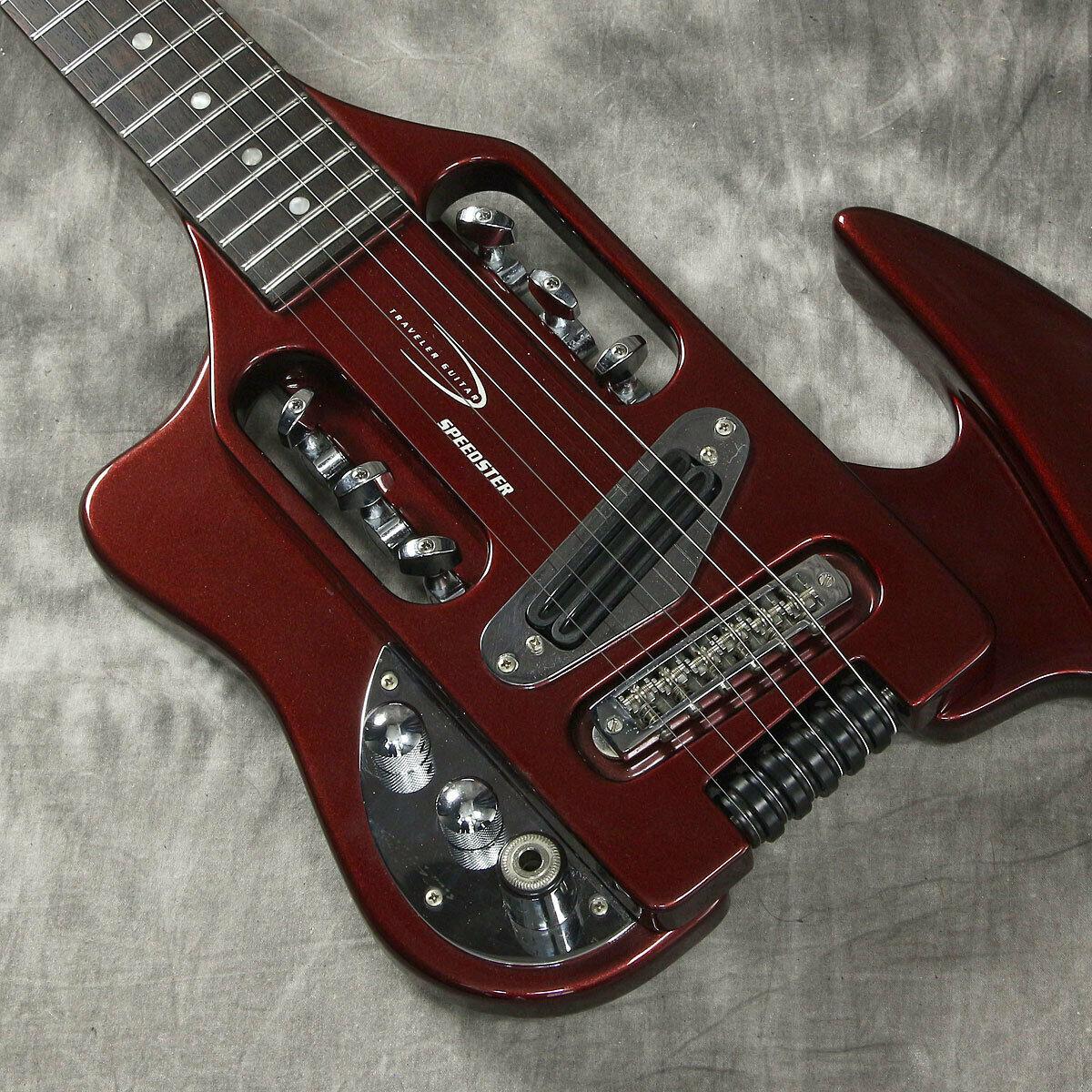 Traveler Guitar Speedstar rot LH Japan rare beautiful vintage popular EMS F   S