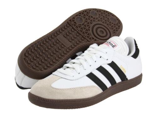Mens Adidas Samba Classic White Athletic Indoor Soccer Shoes 772109 Sizes 8-12
