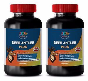 Natural Male Enhancement Supplements Deer Antler Plus 550mg