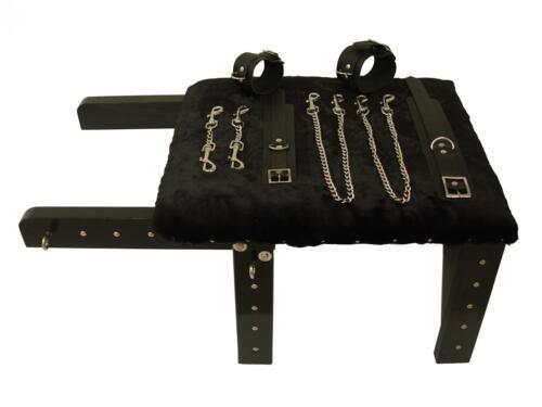 poignet et chevilles MicheleX MXL501 Bondage Tabouret avec Snap chaînes