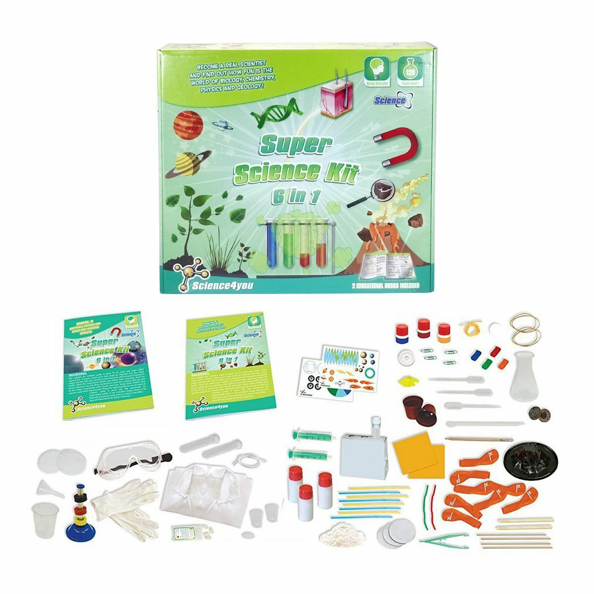 New Science4You Super Science Kit 6 In 1 Educational Experiments STEM Official
