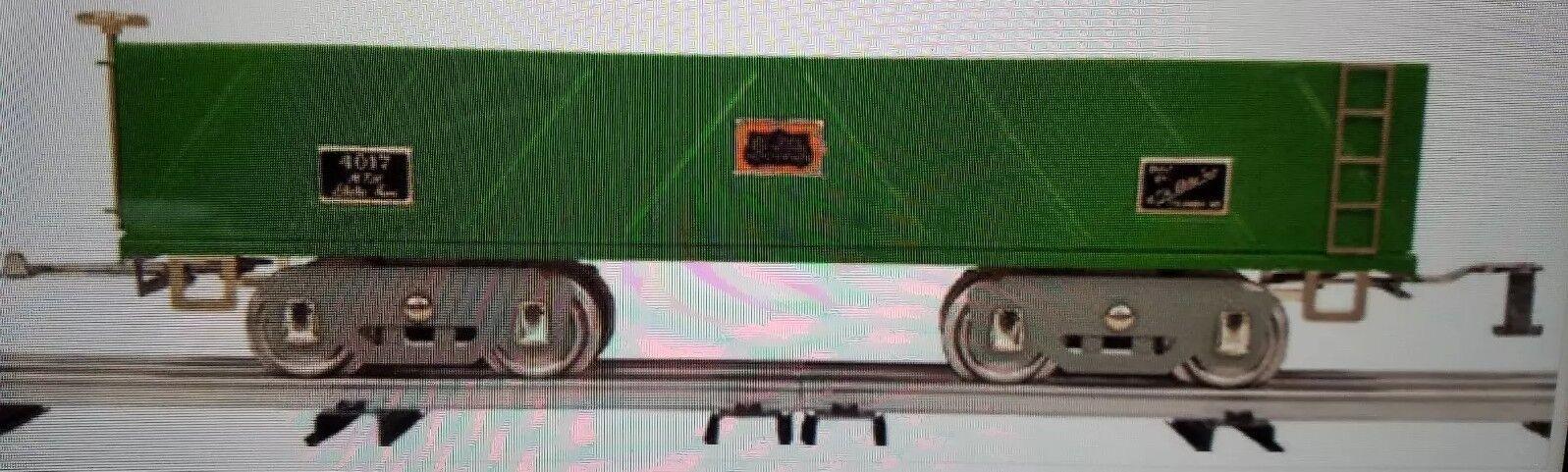 MTH 10 -2198 American flygagaer 4017 Sandbil ståard Gage Tinplate NIB
