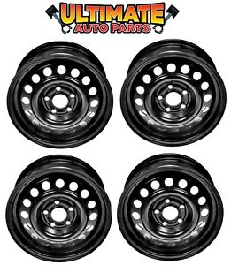 Details About Steel Wheel Rim 14 Inch Wheels Set Of 4 For 92 98 Oldsmobile Achieva