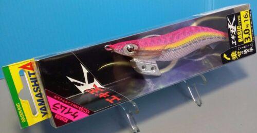 1pc Yamashita Squid Jig Basic Type Egi calamari 16g Size 3.0  SELECT COLOUR