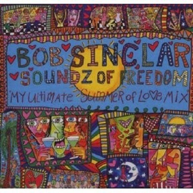 BOB SINCLAR - SOUNDZ OF FREEDOM CD DISCO/ DANCE NEU